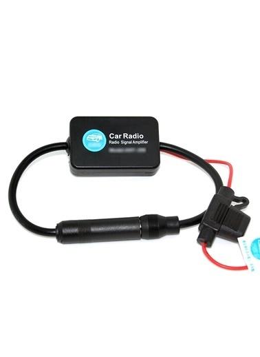 Techmaster 12v Radyo Sinyal Yükseltici Güçlendirici Amplifikatör Renkli